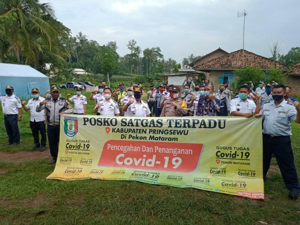 Posko Terpadu Covid-19 Pekon Mataram berakhir