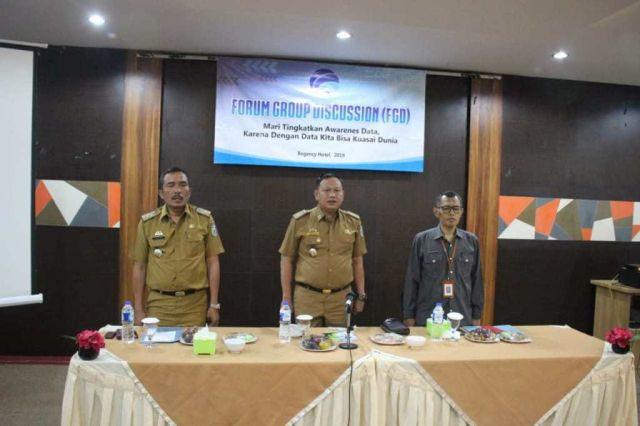 Forum Group Discussion FGD Statistika Pringsewu Dinas Komunikasi dan Informatika Kabupaten Pringsewu