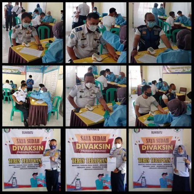 Vaksinasi Covid -19 Dinas Perhubungan Kabupaten Pringsewu