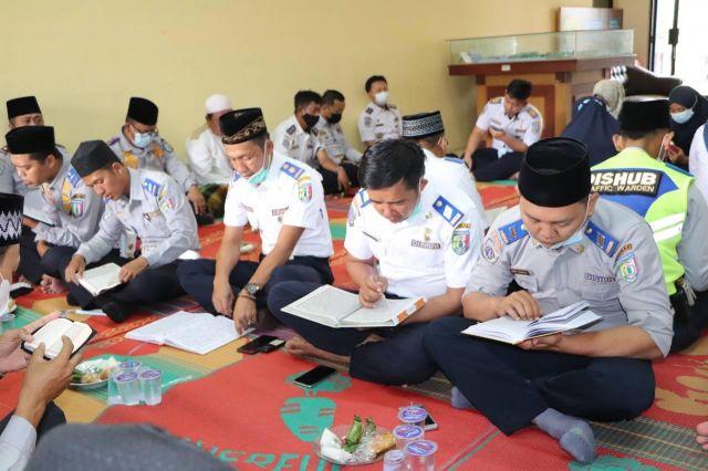 Kegiatan Khotmil Quran Dinas Perhubungan Kabupaten Pringsewu
