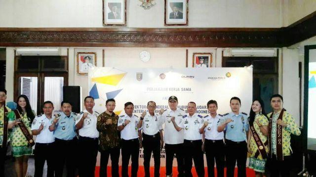 Penandatangan Kerjasama Pemanfaatan Asset barang Negara Bandara Raden Intan II