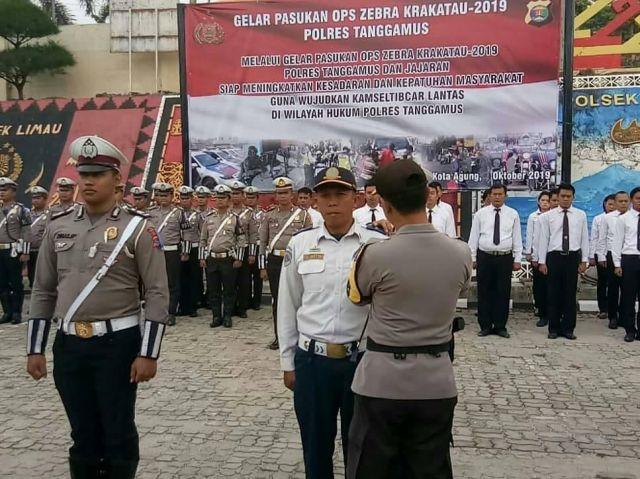 Apel Gelar Pasukan Dalam Rangka Operasi Zebra Krakatau 2019