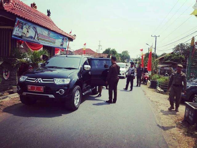 Kunjungan Bapak Sekertaris Daerah Propinsi Lampung Pemberian Kartu Petani Berjaya