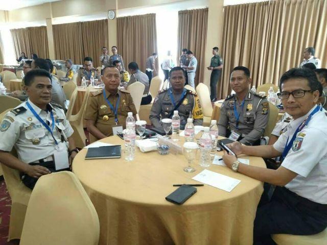 Menghadiri Focus Grup Discussion FGD Polda Lampung