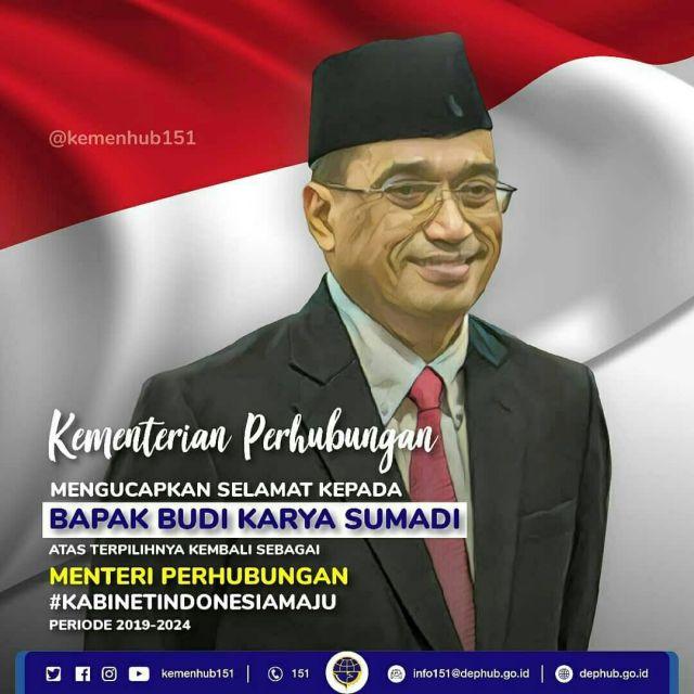 Menteri Perhubungan RI Periode 2019-2024