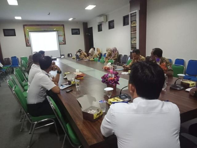 Rapat Persiapan MTQ Provinsi Lampung ke - 48 Tahun 2020