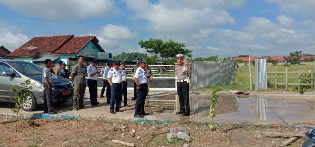 Dishub & Satlantas Polres Pringsewu Tinjau Lokasi MTQ ke-48