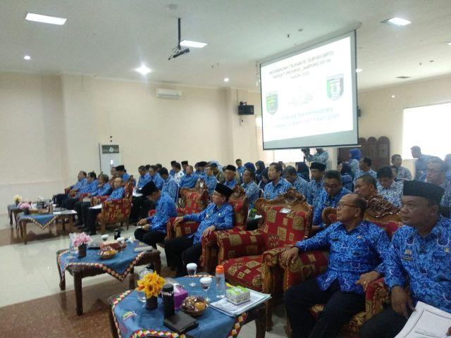 Rapat Persentasi Ketua Seksi LPTQ
