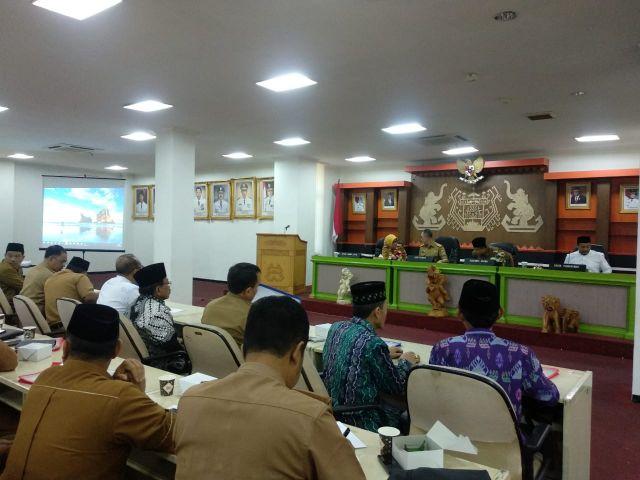 Rapat Kerja Daerah RAKERDA XXIV Lembaga Pengembangan Tilawatil Quran LPTQ Provinsi Lampung