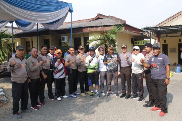 Kunjungan Wakapolda Lampung & Bupati Pringsewu Tinjau Mapolres Pringsewu & Mapolsek Pringsewu Kota